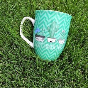"☀️""Can't Touch This"" Cactus 16 oz. Coffee Cup"